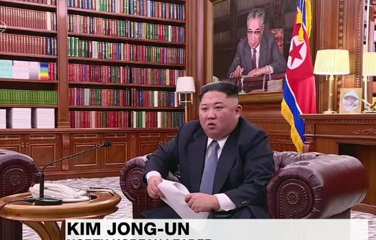 Nordkorea Kim Jong un Januar 2018 Ausschnitt 2