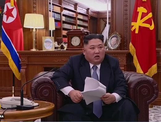 Nordkorea Kim Jong un Januar 2018 Ausschnitt